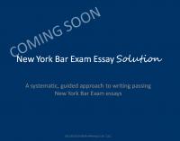 New York Bar Exam Essay Solution Title