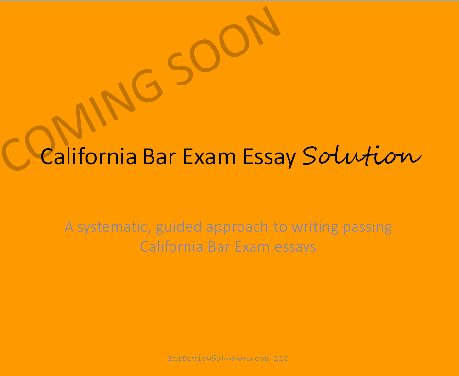 california bar exam essay solution on demand essay writing  2016 california bar exam essay solution on demand essay writing workshop