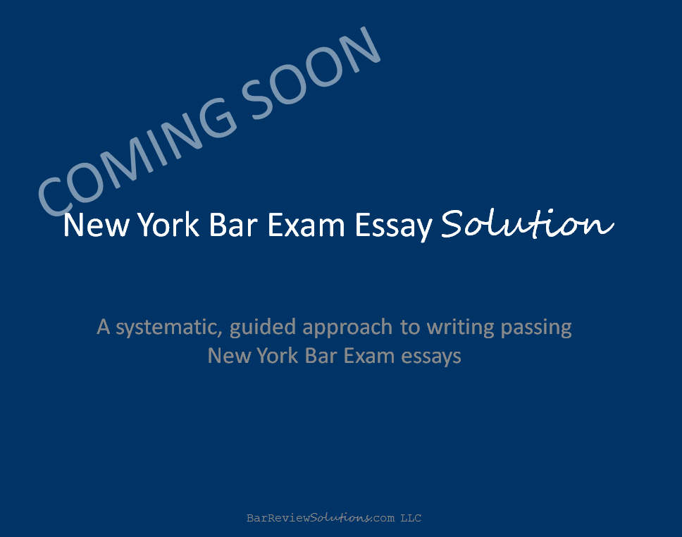 new york bar essay advice Find out the difference between the ny bar exam and the ube, so you will know what to study what's the difference between the outgoing ny bar exam and the ube the ny bar exam.
