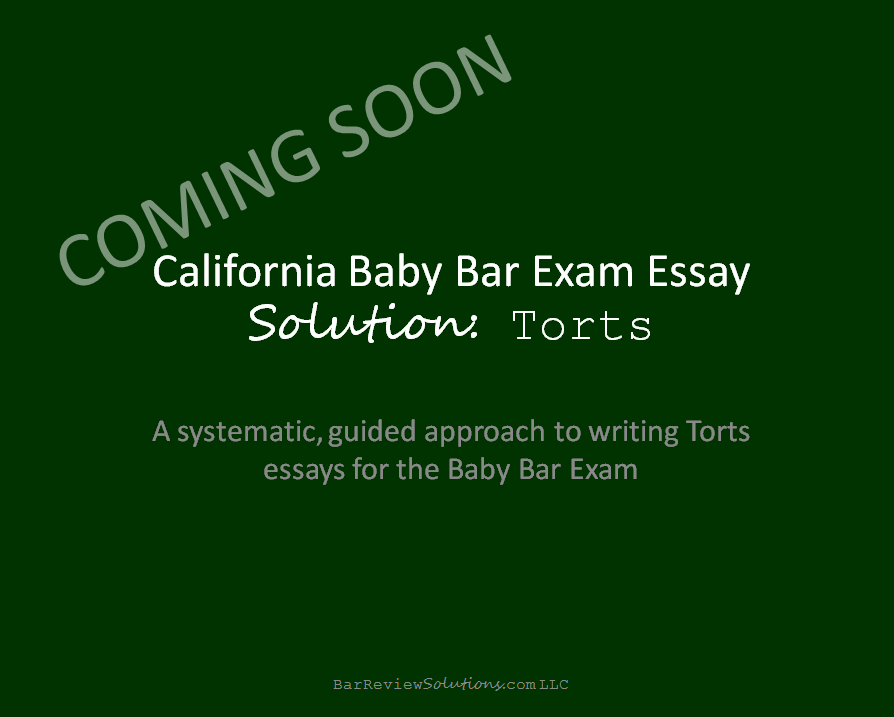 Law of torts negligence essay