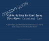 2017 California Baby Bar Exam (FYLSX) Essay Solution: Criminal Law
